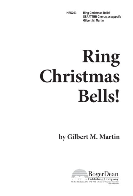 Ring, Christmas Bells