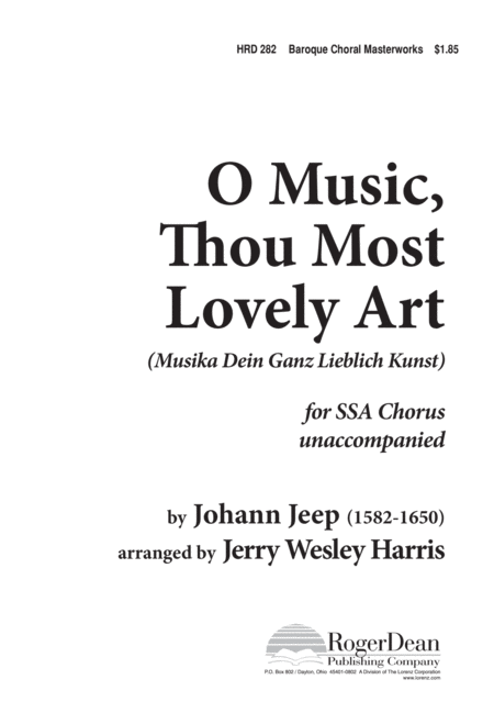 O Music, Thou Most Lovely Art