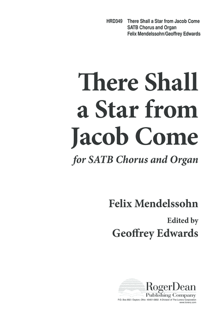 There Shall a Star From Jacob Come