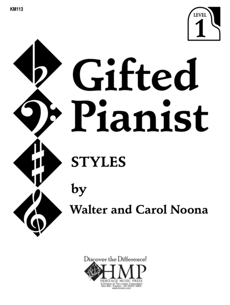 Gifted Pianist: Styles, Book 1