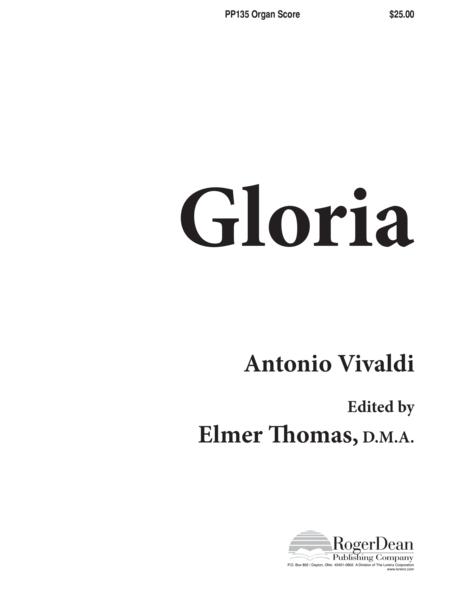 Gloria - Organ Accompaniment