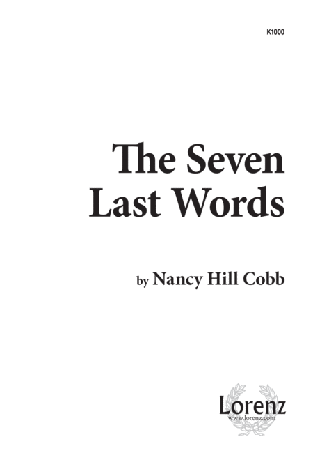 The Seven Last Words