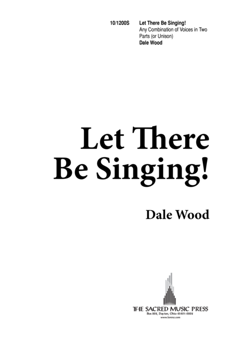 Let There be Singing