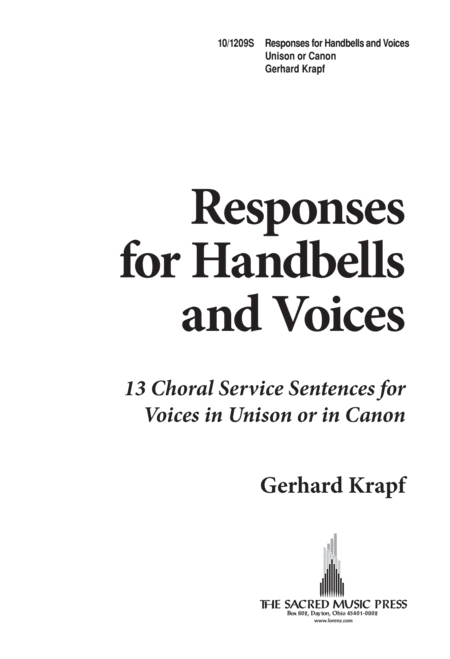 Responses for Handbells and Voices
