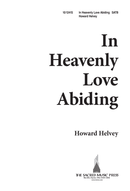 In Heavenly Love, Abiding