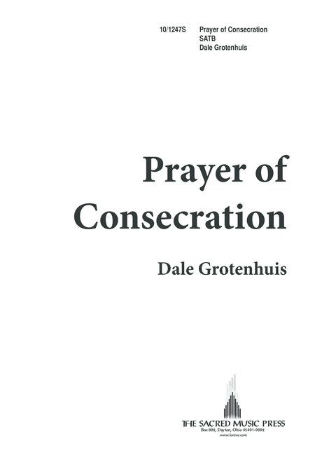 Prayer of Consecration