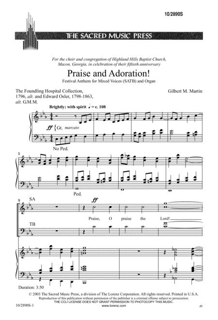 Praise and Adoration