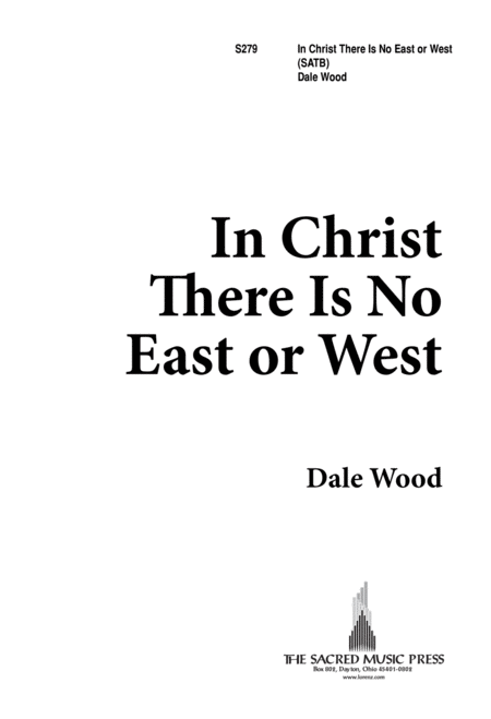 In Christ, There is no East or West