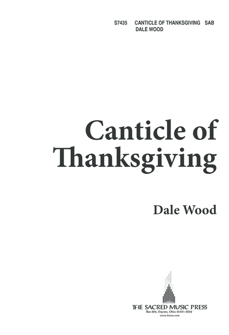 Canticle of Thanksgiving