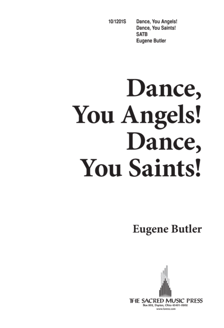 Dance You Angels, Dance You Saints