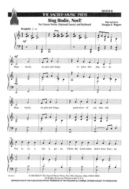 Sing Hodie Noel