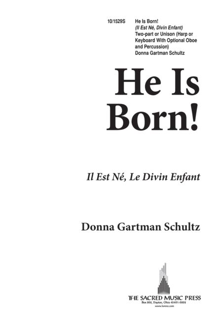 He Is Born- U/2 Part