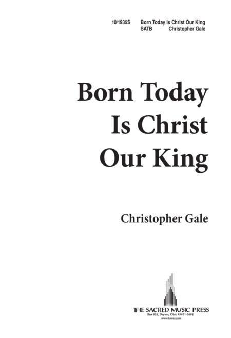 Born Today Is Christ Our King