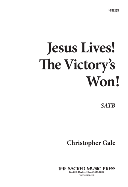 Jesus Lives! The Victory's Won