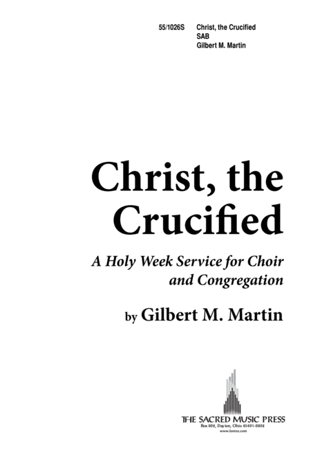 Christ the Crucified