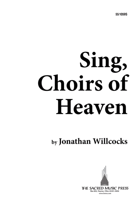 Sing, Choirs of Heaven