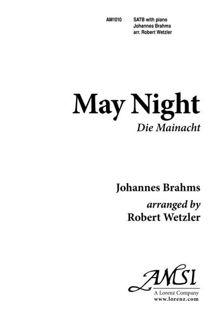 May Night (Brahms)