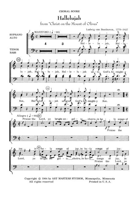 Hallelujah (Beethoven)