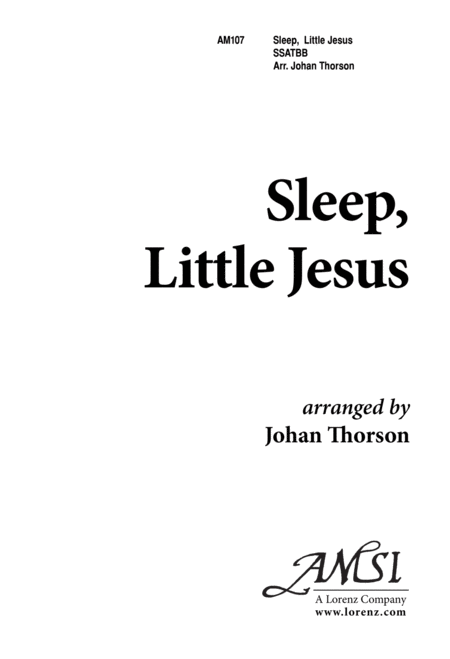 Sleep, Little Jesus