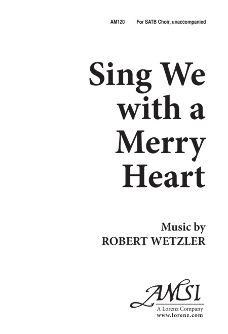 Sing We With a Merry Heart