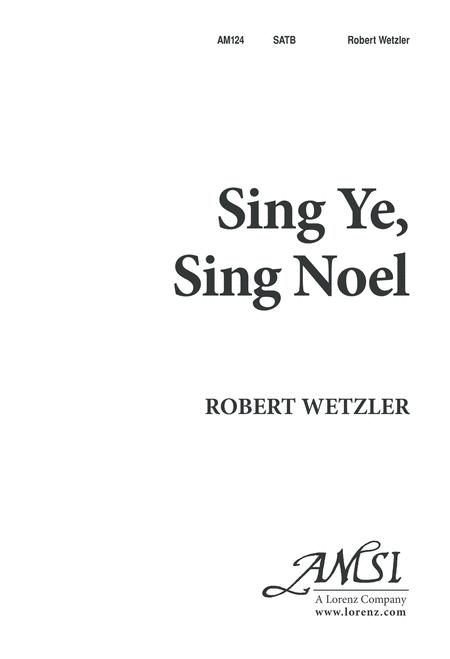 Sing Ye, Sing Noel