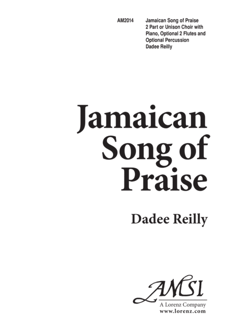 Jamaican Song of Praise