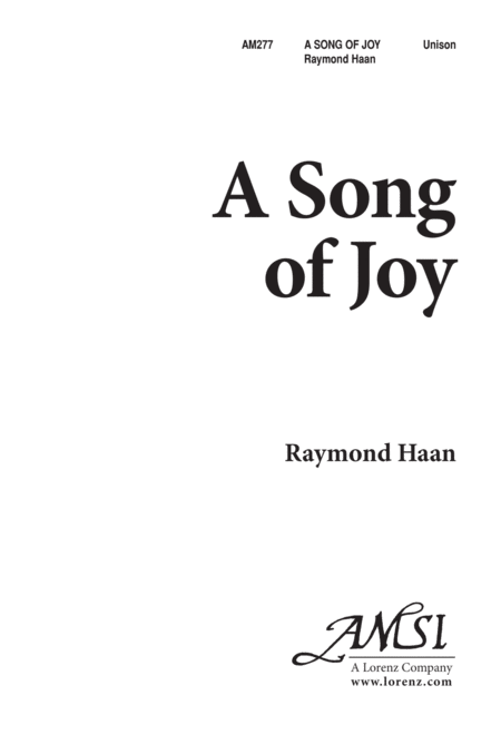 A Song of Joy