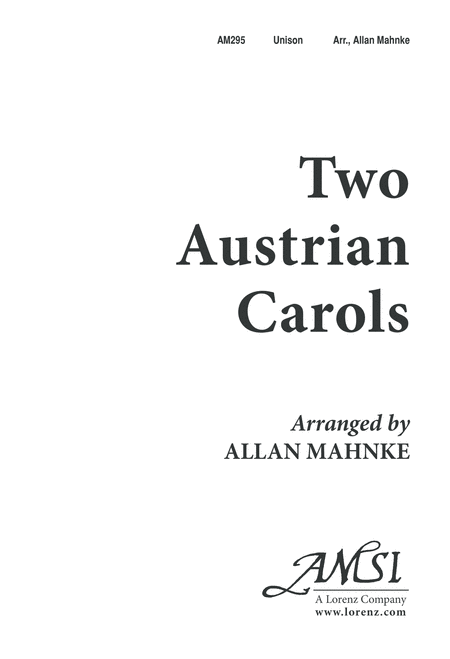 Two Austrian Carols