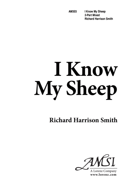 I Know My Sheep