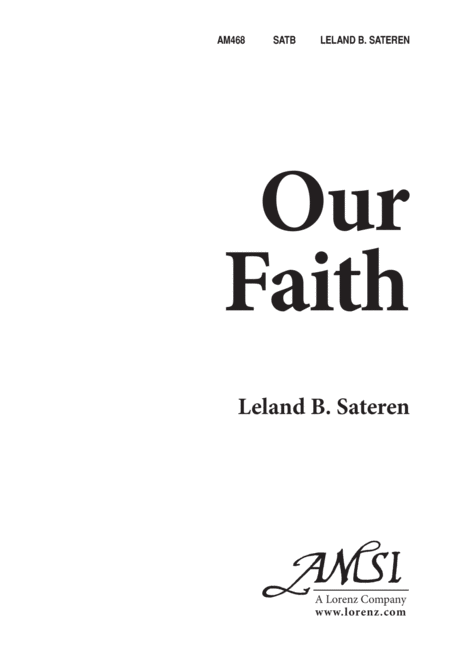 Our Faith