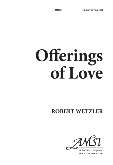 Offerings of Love