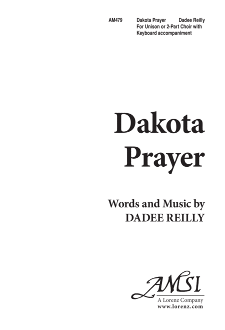 Dakota Prayer