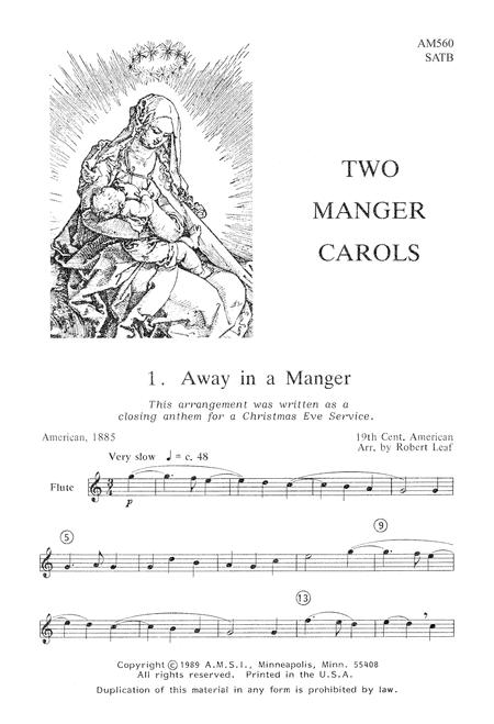 Two Manger Carols