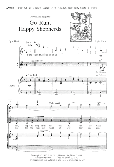 Go, Run, Happy Shepherds