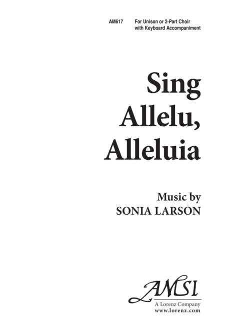Sing Allelu, Alleluia