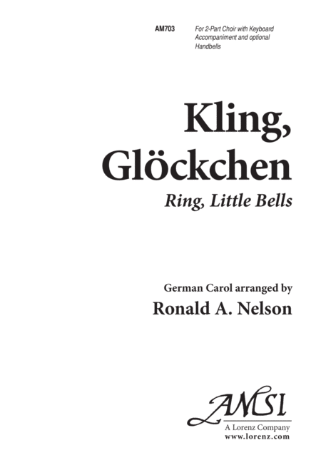Kling Glockchen (Ring Little Bells)
