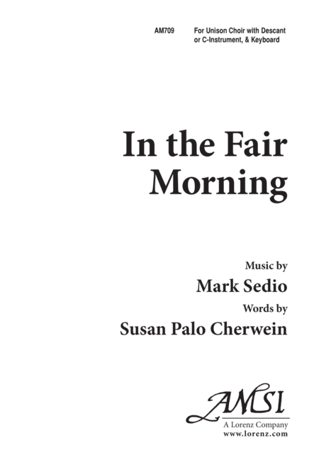 In the Fair Morning