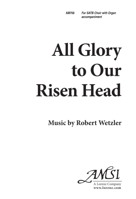 All Glory to Our Risen Head!
