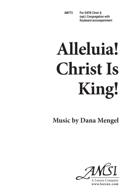 Alleluia, Christ Is King!