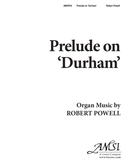 Prelude on 'Durham'