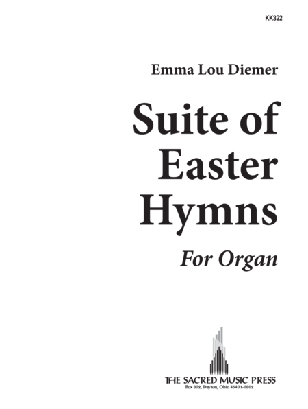 Suite Of Easter Hymns For Organ
