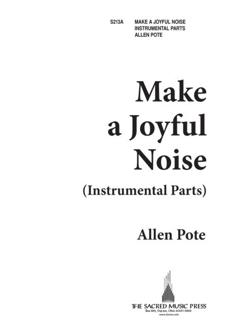 Make a Joyful Noise - Instrumental Parts