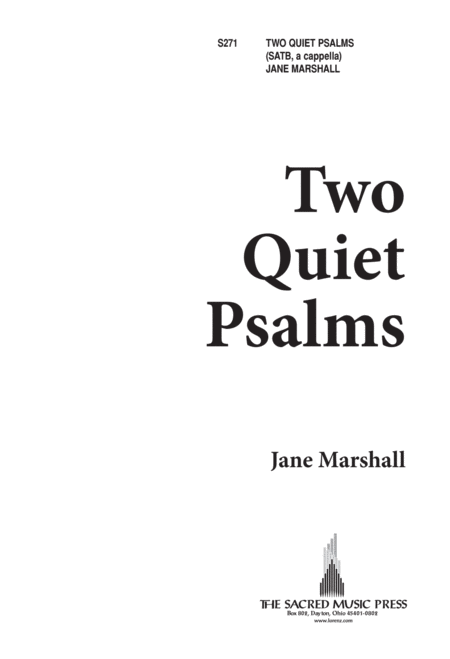 Two Quiet Psalms