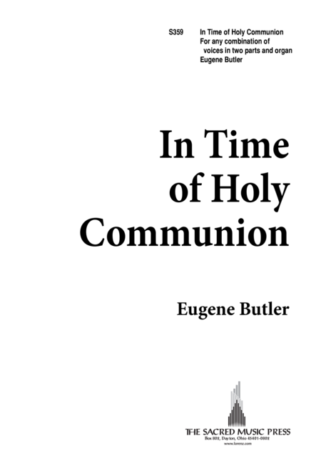 In Time of Holy Communion