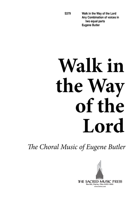 Walk in the Way of the Lord