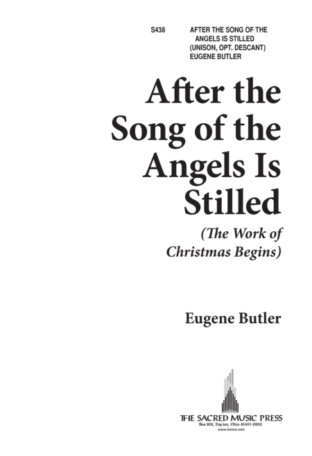 After the Song of the Angels Is Stilled