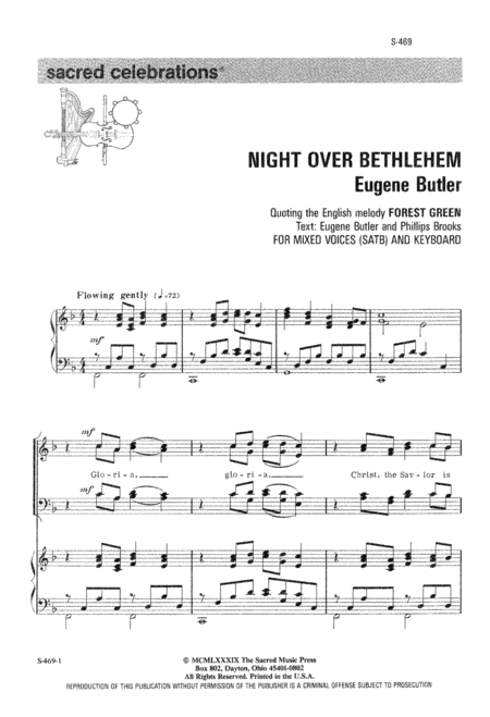 Night Over Bethlehem