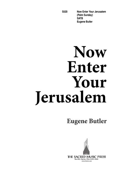 Now Enter Your Jerusalem