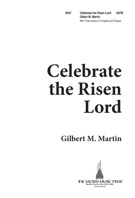 Celebrate the Risen Lord