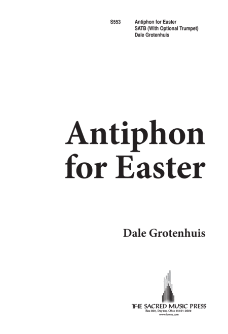 Antiphon For Easter